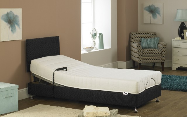 Imperial Opulence Memory Foam Adjustable Bed Shallow Base
