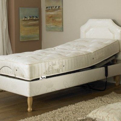 The Prestige Ambience Pocket Spring-Adjustable Bed Shallow Base Bed
