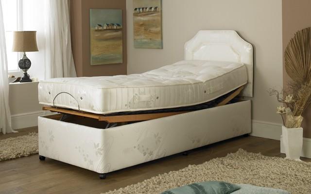 Prestige Ambience Pocket Spring Manual Adjustable Bed Deep Base