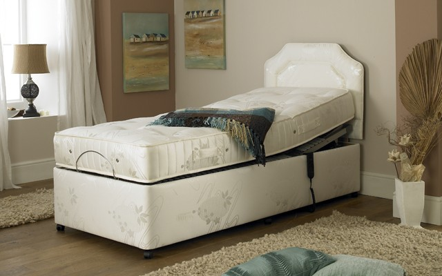 Prestige Ambience model 2 pocket spring and memory foam adjustable bed