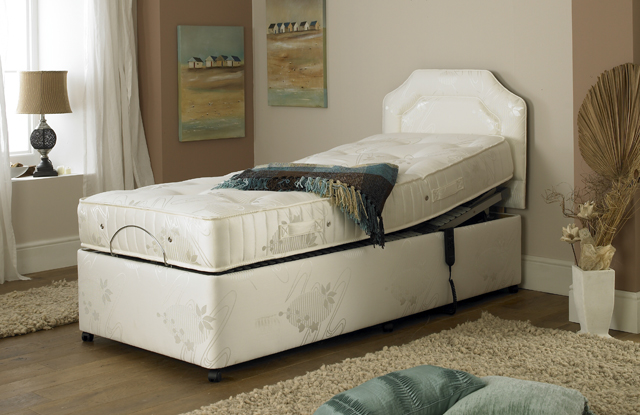 Prestige Ambience model 2 pocket spring and memory foam adjustable bed
