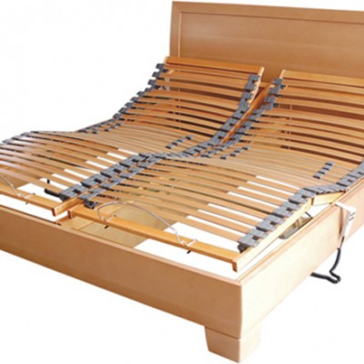 The Westminster wooden electric adjustable bed