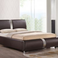 Chichester Brown Electric Adjustable Leather Bed