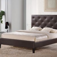 Kensington Brown Electric Adjustable Leather Bed