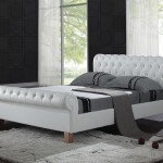 Richmond White Electric Adjustable Leather Bed