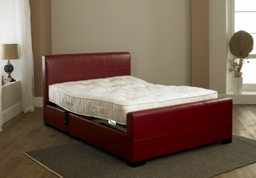 Knightsbridge Electric Adjustable Bed with foot end raised