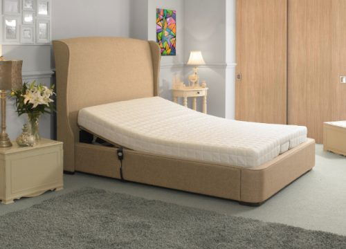 Electric Fabric Oxford Bed