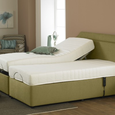 Majestic Touch Latex Adjustable Dual Bed
