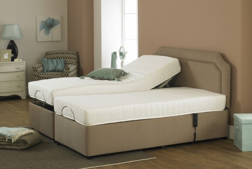 Royal Elegance Reflex Adjustable Dual Bed