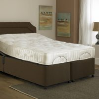 Imperial Opulence Memory Foam Adjustable Double Bed