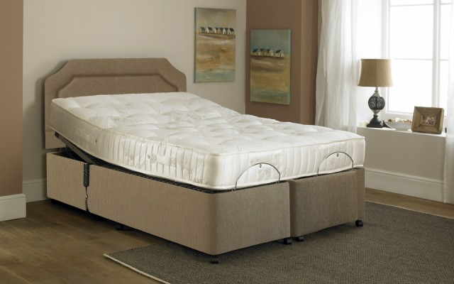 Majestic Touch Latex Adjustable Double Bed